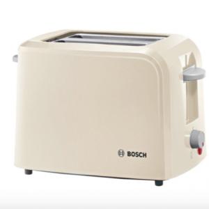 Bosch TAT3A017 Village Collection Toaster, Cream The Appliance Centre NI