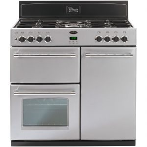 Belling CLASSIC 90DFT 90cm Dual Fuel Range Cooker - Silver The Appliance Centre NI
