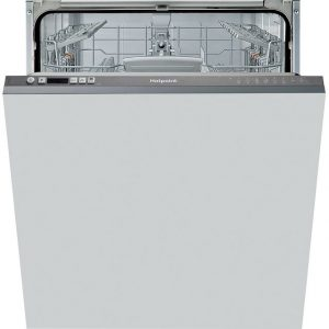 Hotpoint HIC3B19CUK Fully Integrated Standard Dishwasher - Graphite Control Panel with Fixed Door Fixing Kit - F Rated The Appliance Centre NI