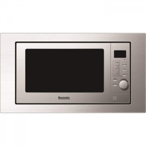 Baumatic Built-In Compact Microwave - BMG1250SS The Appliance Centre NI