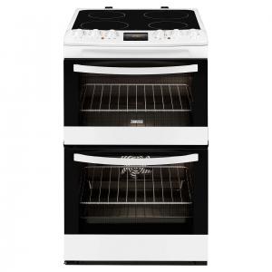 Zanussi 55cm Electric Cooker -ZCV48300WA The Appliance Centre NI