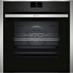 Neff B47FS34H0B Built-in Oven with Steam Function Stainless Steel The Appliance Centre NI