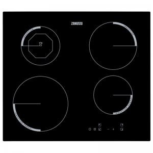 Zanussi ZEI6840FBV 59cm Induction Hob - Black The Appliance Centre NI