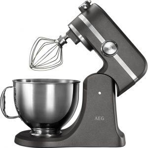 AEG Ultramix Stand Mixer Metallic Grey - KM5540-U The Appliance Centre NI