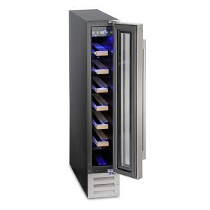 Montpellier 7 Bottle Wine Cooler - WS7SDX The Appliance Centre NI