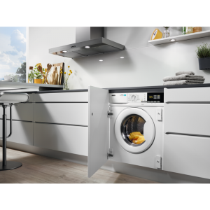 Zanussi Z716WT83BI Integrated 7Kg / 4Kg Washer Dryer with 1550 rpm - White - A Rated The Appliance Centre NI