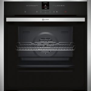 Neff Slide and Hide Single Electric Oven – B47CR32N0B The Appliance Centre NI