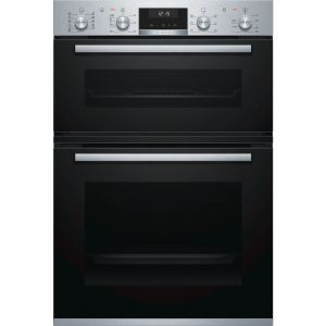 BOSCH Electric Double Oven Stainless Steel - MBA5575S0B The Appliance Centre NI