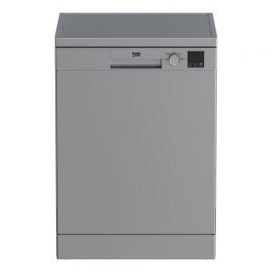 BEKO DVN04X20S Full-size Dishwasher - Silver The Appliance Centre NI